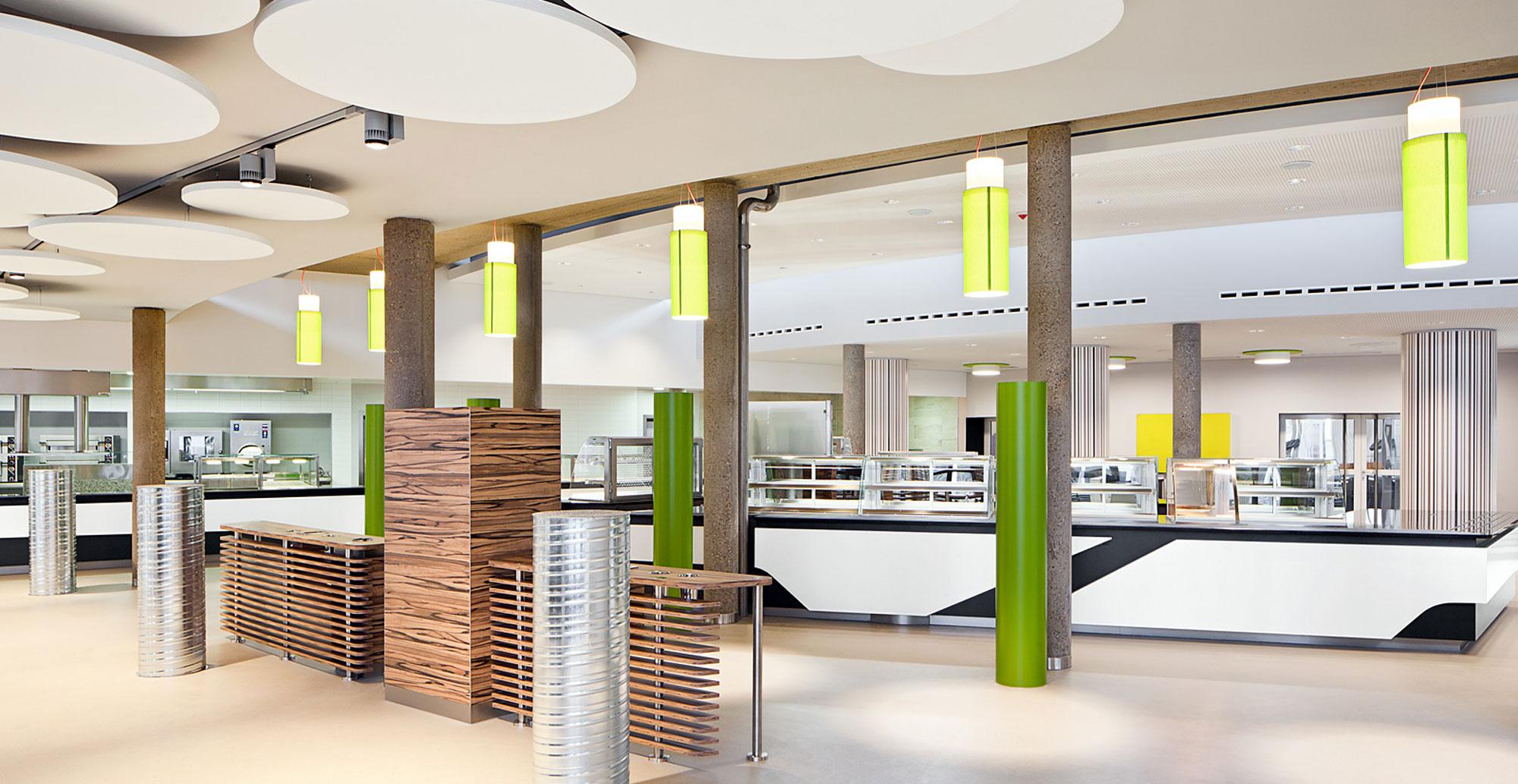 Designkonzept , Farbkonzept, BaFin Cafeteria, Bonn