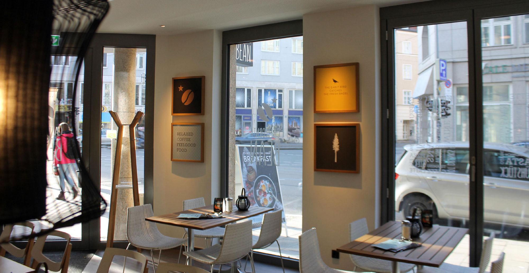 Corporate Identity, Cafe, München