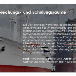 Corporate Identity, Hamburg, Innenarchitektur Bartusch